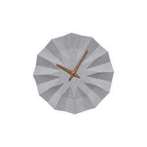 Polygon Concrete Wall Clock