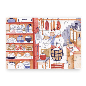 Pucle Kids Puzzle - Pantry 24 Pieces