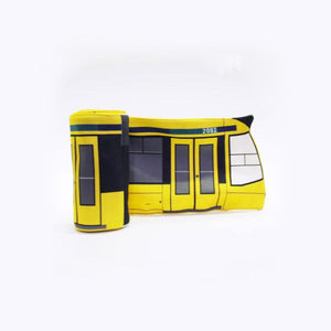 Urban Scarf - Tram. Yellow
