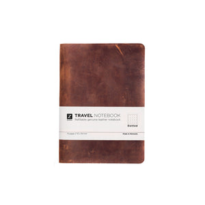 Zuriell Leather Notebook Travel (A5) Brown