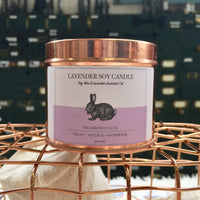 Vegan Bunny Soy Candles