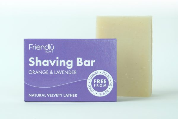 Shaving bar- orange & lavender
