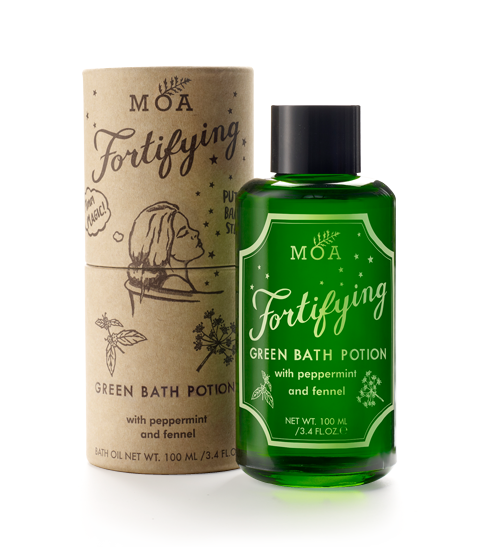 Green bath potion 100ml