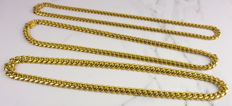 Miami Design Cuban Chain (12MM) - Gold X