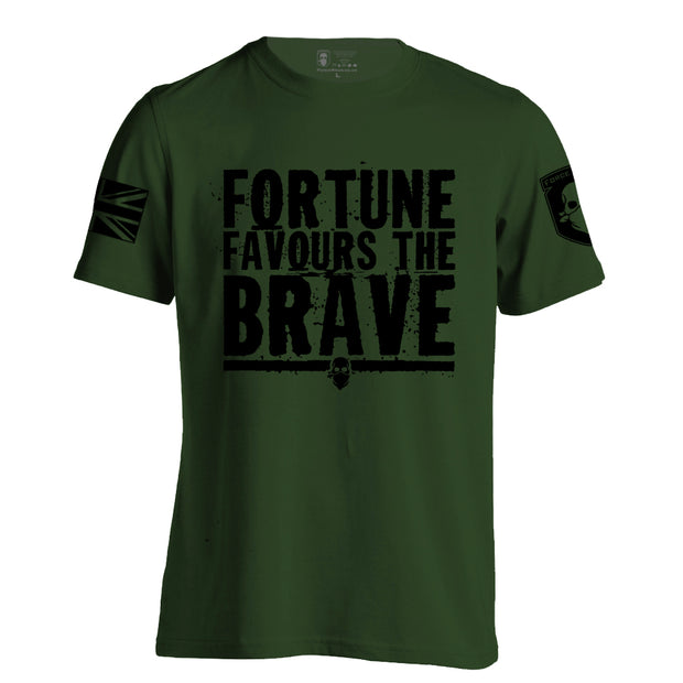 FORTUNE FAVOURS THE BRAVE