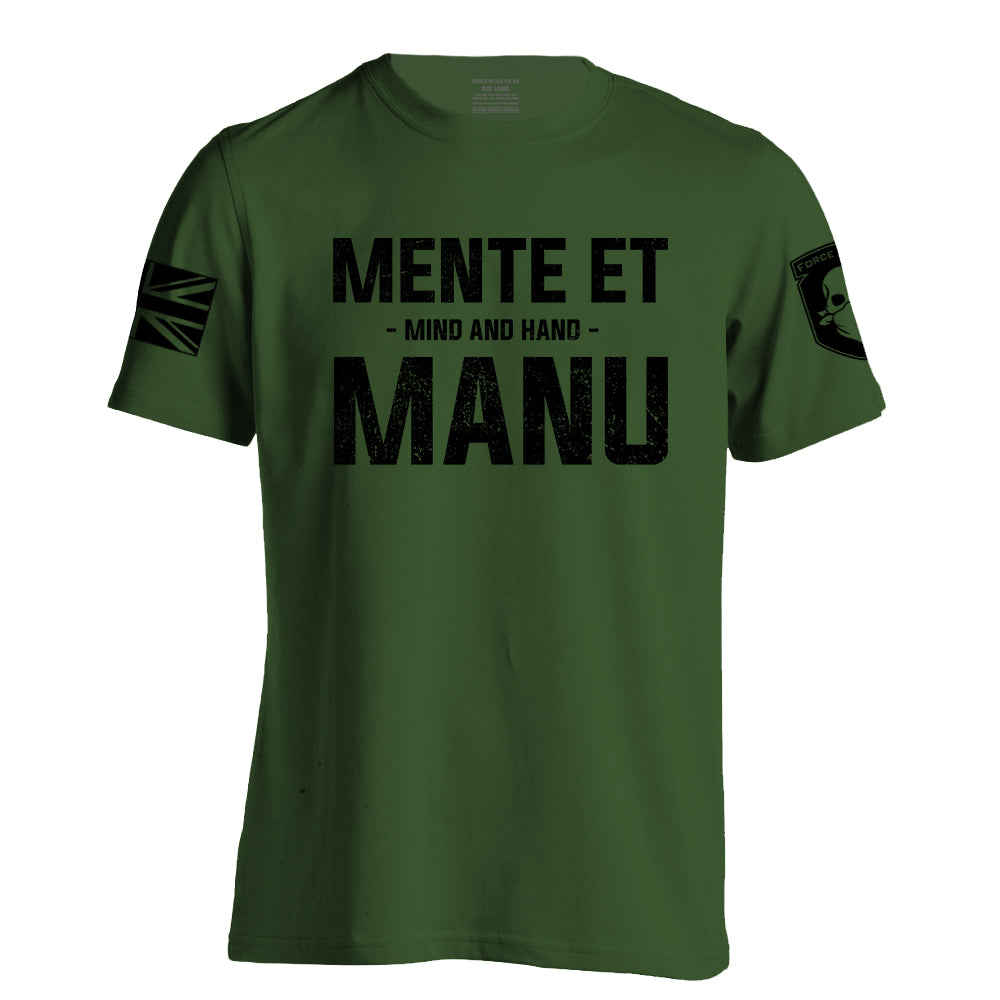 MENTE ET MANU (THE QUEEN'S ROYAL HUSSARS)