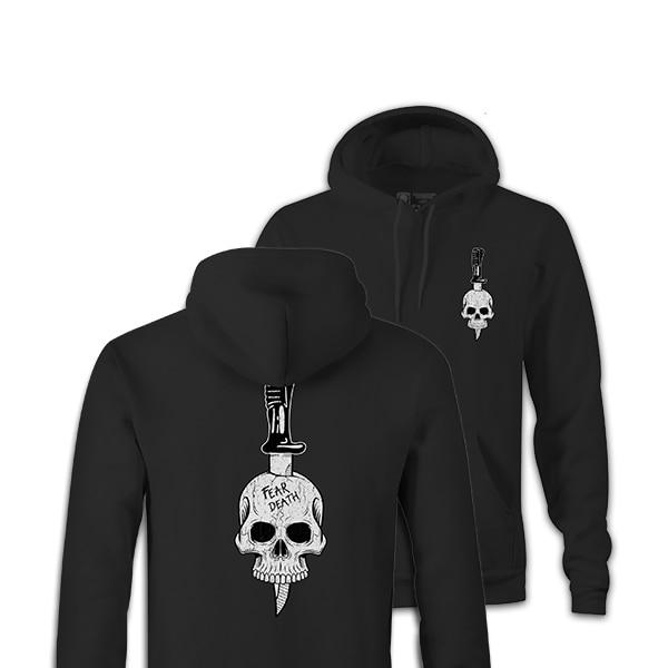 FEAR DEATH SA80 HOODIE-NEW DESIGNS (ALL BRANDS)-Force Wear HQ