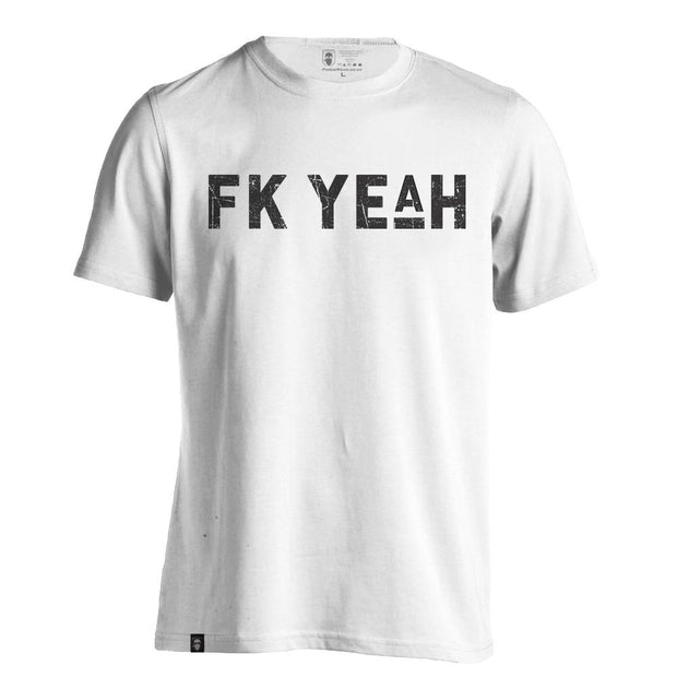 FK YE(A)H WHITE-NEW DESIGNS (ALL BRANDS)-Force Wear HQ