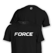 FORCE T-SHIRT BLACK-NEW DESIGNS (ALL BRANDS)-Force Wear HQ