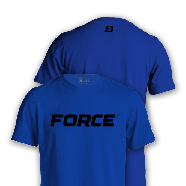 FORCE T-SHIRT BLUE-NEW DESIGNS (ALL BRANDS)-Force Wear HQ