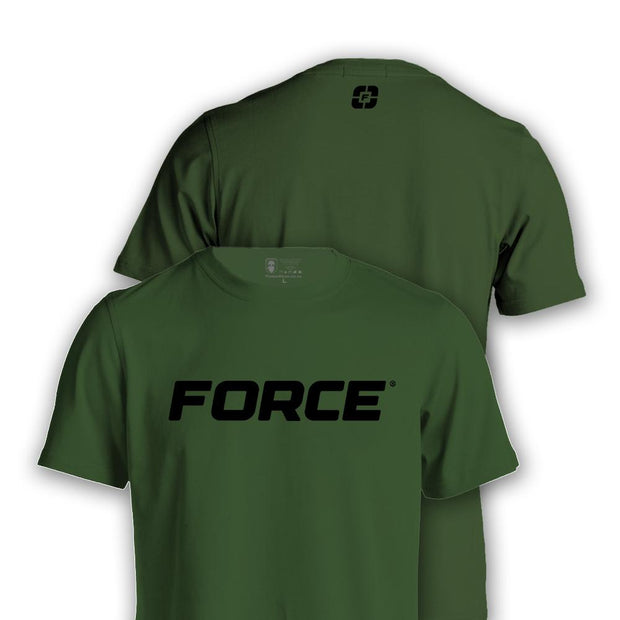 FORCE T-SHIRT GREEN-NEW DESIGNS (ALL BRANDS)-Force Wear HQ