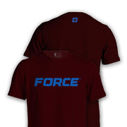 FORCE T-SHIRT MRN-NEW DESIGNS (ALL BRANDS)-Force Wear HQ