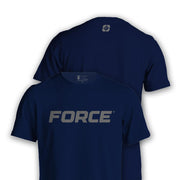 FORCE T-SHIRT NAVY-NEW DESIGNS (ALL BRANDS)-Force Wear HQ