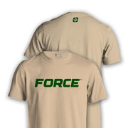 FORCE T-SHIRT TAN-NEW DESIGNS (ALL BRANDS)-Force Wear HQ