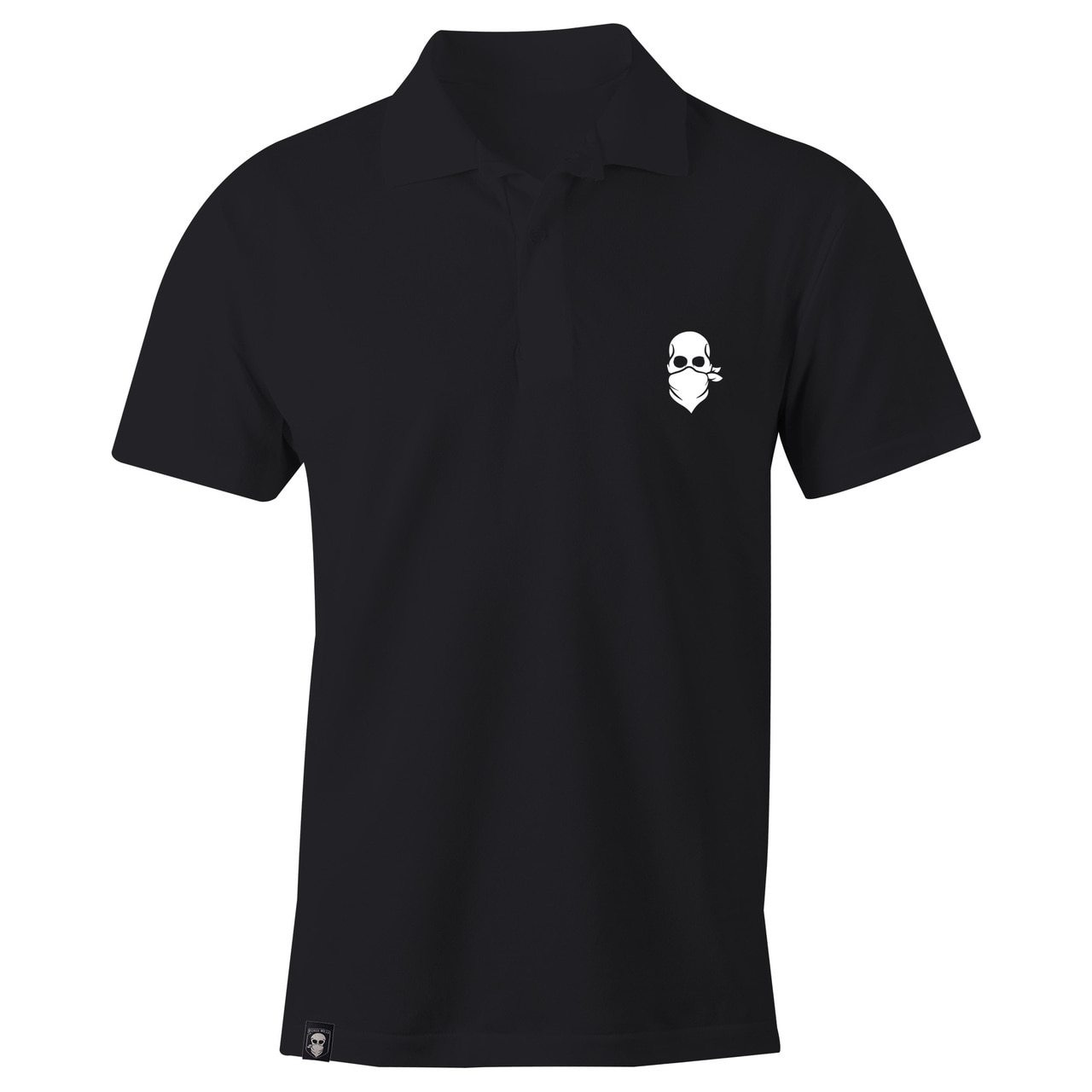 FORCE WEAR POLO BLACK-FORCE WEAR ®-Force Wear HQ