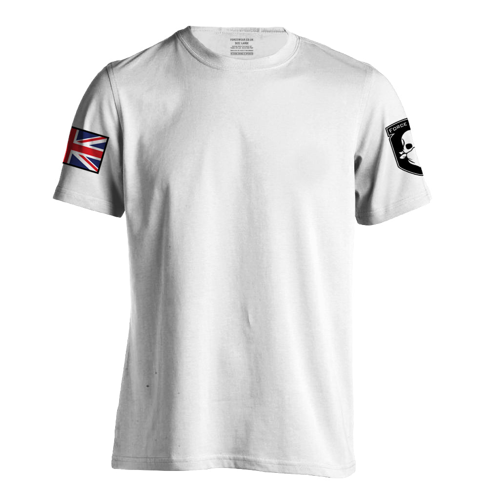 FULL COLOUR T-SHIRT WHITE