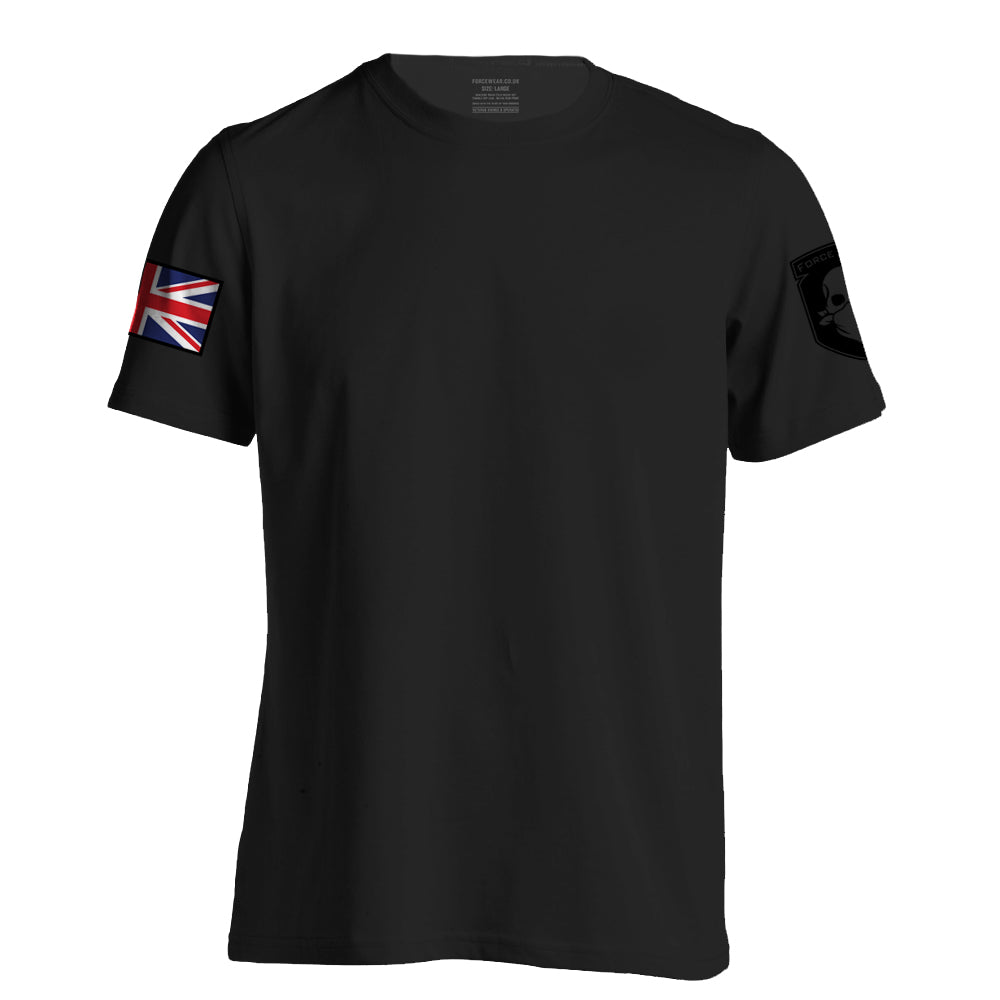 FULL COLOUR BASE T-SHIRT WORN BLACK