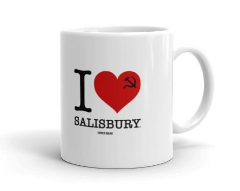 I LOVE SALISBURY MUG-FORCE WEAR ®-Force Wear HQ