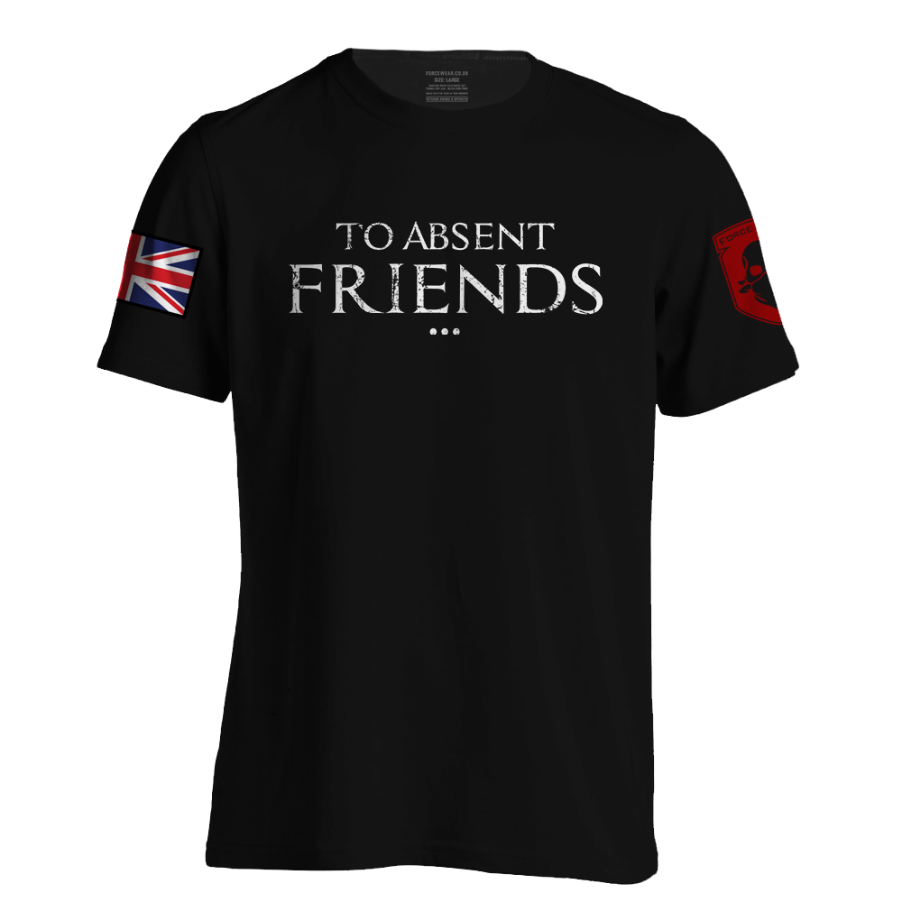 'TO ABSENT FRIENDS' WHT INK LTD ED