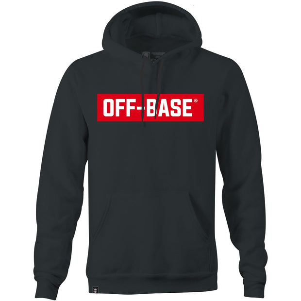 OFF-BASE CLASSIC BLK HOODIE-NEW DESIGNS (ALL BRANDS)-Force Wear HQ