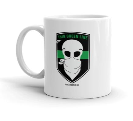 THIN GREEN LINE MUG-FORCE WEAR ®-Force Wear HQ