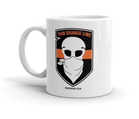 THIN ORANGE LINE MUG-FORCE WEAR ®-Force Wear HQ
