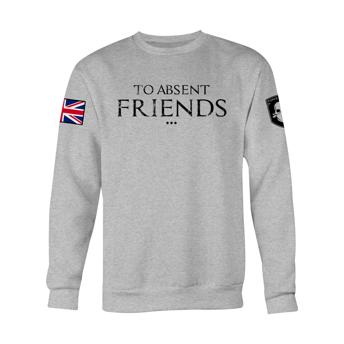 TO ABSENT FRIENDS SWEAT