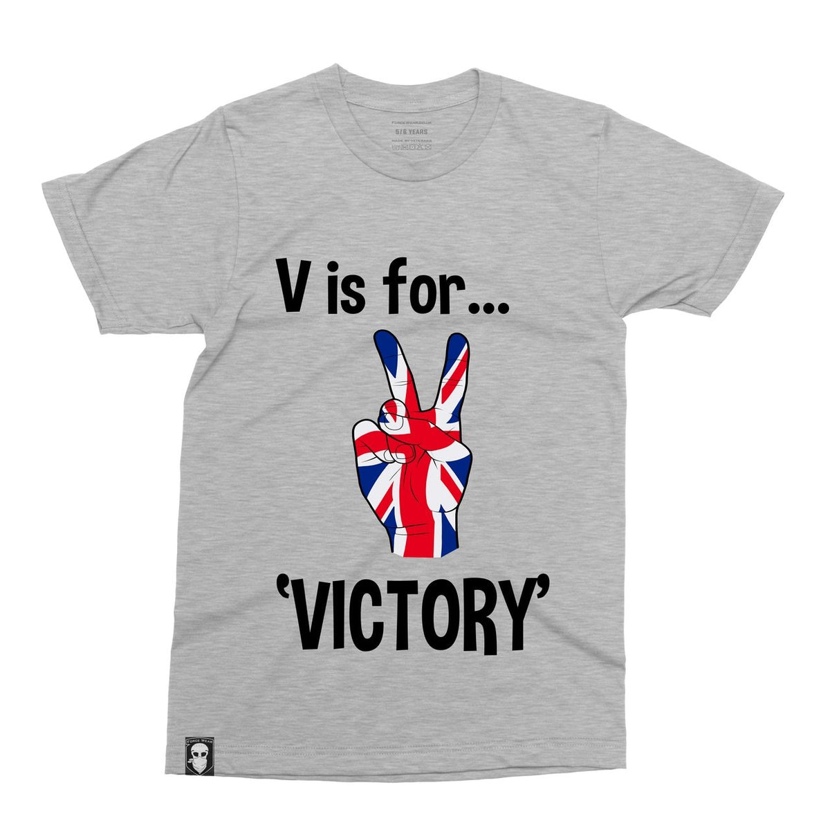 V FOR VICTORY - KIDS-NEW DESIGNS (ALL BRANDS)-Force Wear HQ