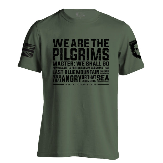 BORN FEARLESS WE ARE THE PILGRIMS