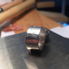 Beginners silver ring