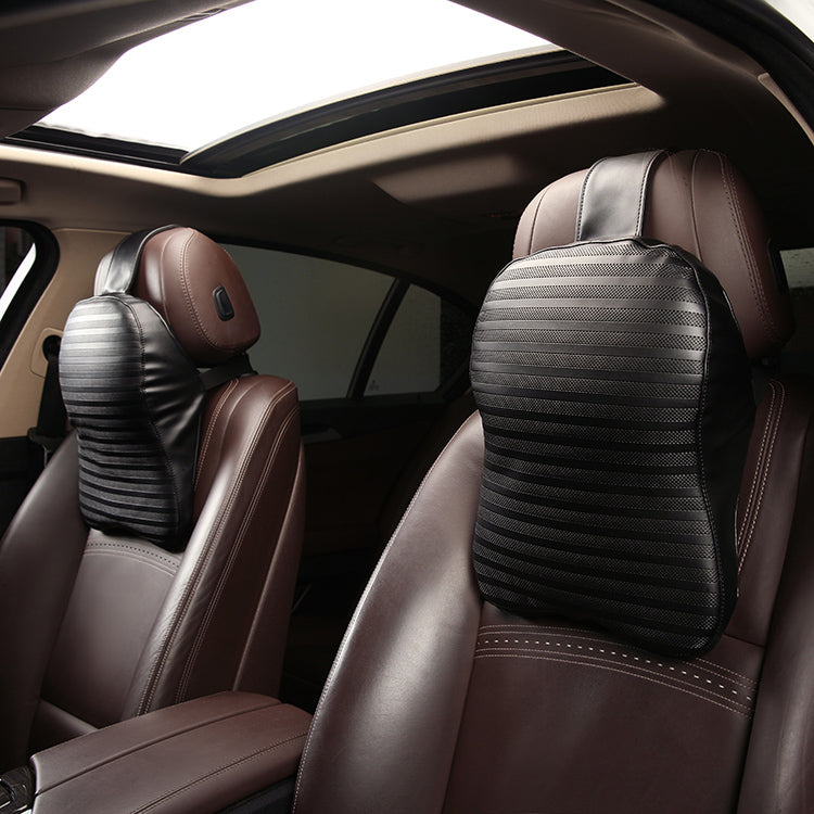 Luxury Car Neck Pillow (Lumbar Support Option)