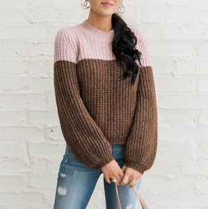Autumn and winter sweater