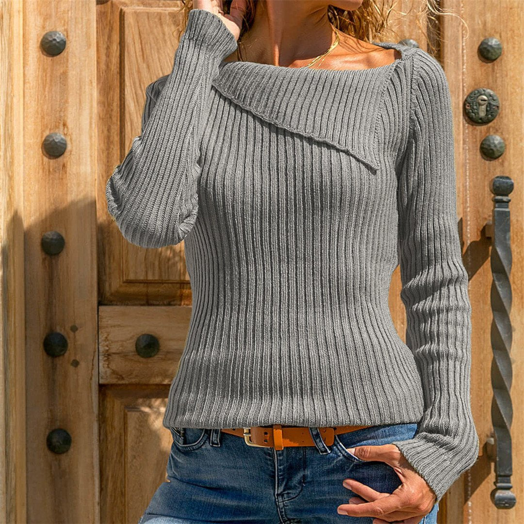 Women Autumn And Winter Long Sleeve Pullover Sweater