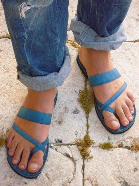Bandage Casual Open Toe Flip-flops Work Shoes Summer Sandals Slipper - nayachic