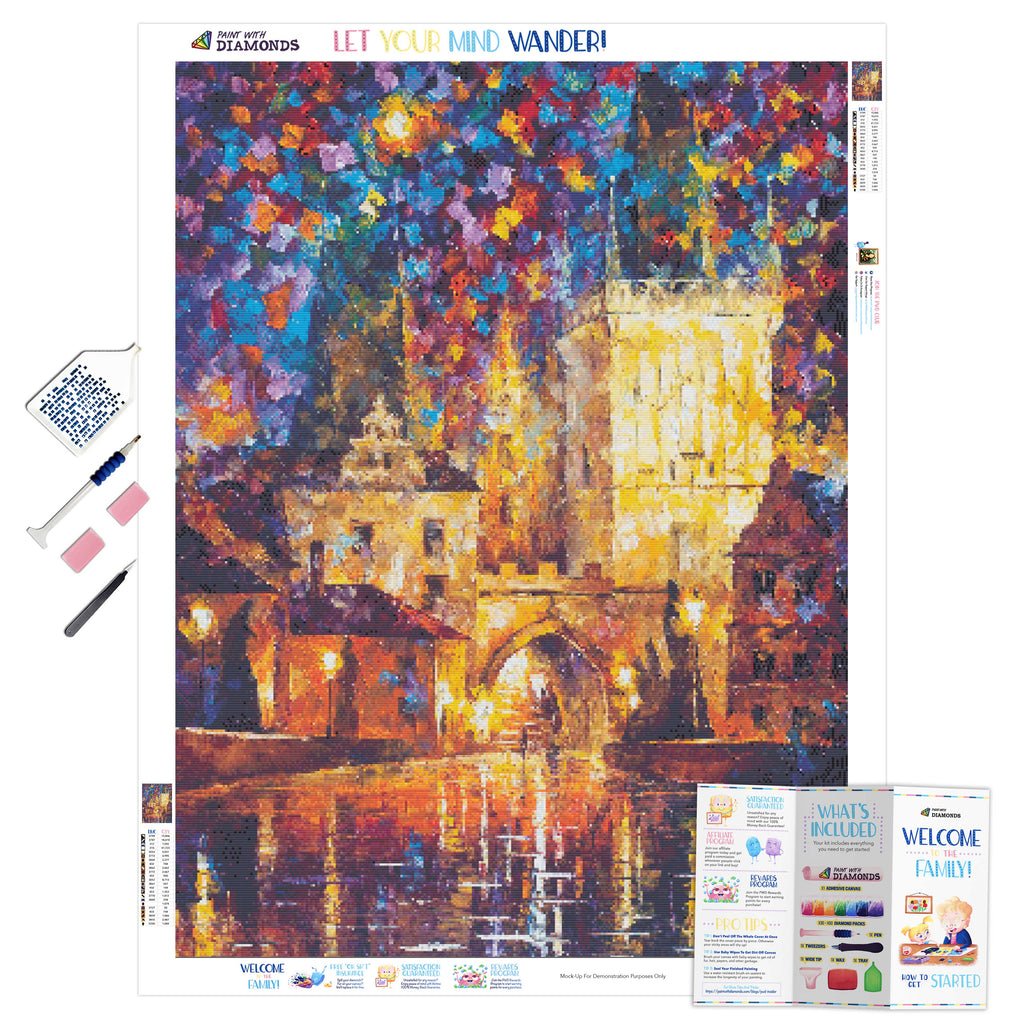 Castle-5D Diamond Painting