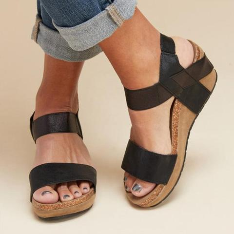 "Summer Women Comfy Wedges Platform Sandals"" class=""product__img - veooy"