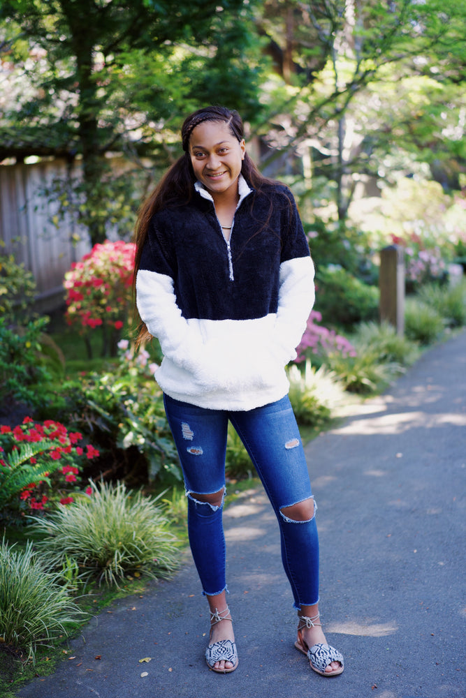 Teddy Block Pullovers (*Last Chance 50% OFF) - Leina Shine