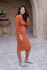 Lia Balloon Sleeve Dress (Only 3 Left!)