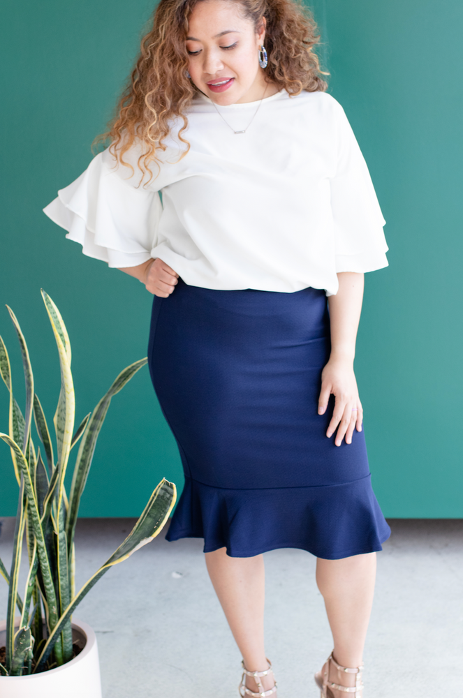 Midi Mermaid Skirt (*Final Sale)