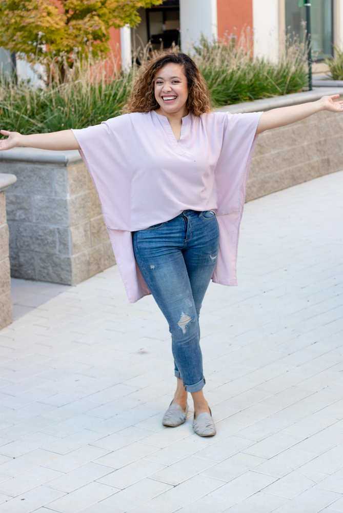 Kimono High Low Blouse (EARLY BIRD)