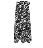Perfectly Spotted Wrap Skirt - Leina Shine