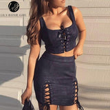 """Lacy"" Two Piece"
