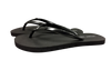 Women's Black Pearl - Savanna Sandals Sustainable Flip Flops Recycled Tire