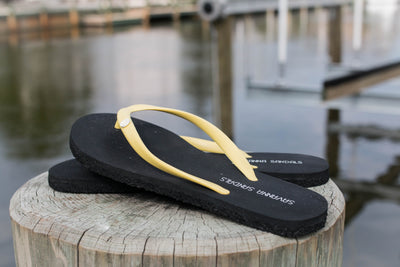 Women's Canary - Savanna Sandals Sustainable Flip Flops Recycled Tire