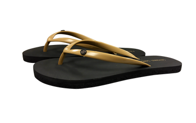 Women's Tan - Savanna Sandals Sustainable Flip Flops Recycled Tire