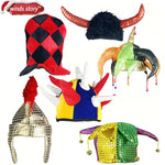 Halloween Hat Fancy Dress Party Costume Cap Party Decor for Kids Adult
