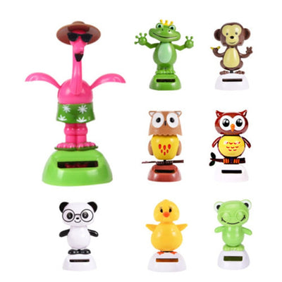 Solar Powered Dancing toys Swinging Animated  Animal Dancer