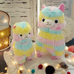 RAINBOW Alpaca Plush Toy 3 Size Dolls For Children