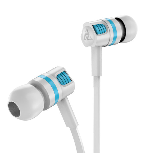 Headphone Noise Isolating in ear Earphone Headset with Mic