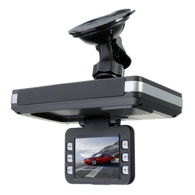 Car Dash Camera DVR Recorder + Radar Speed Detector